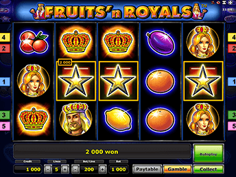 Fruits And Royals Вулкан Удачи