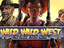 Wild Wild West: The Great Train Heist от NetEnt: топовый автомат