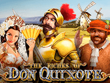 The Riches Of Don Quixote – игровой автомат от разработчика Playtech